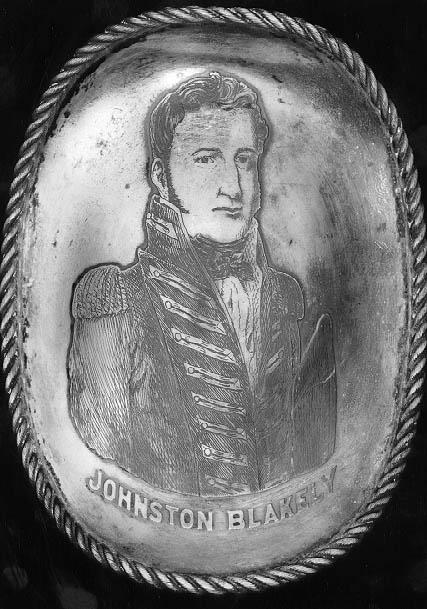 Engraving of Johnston Blakeley. Image courtesy of the NC Museum of History.