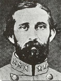 "Robert Daniel Johnston. Image courtesy of ""North Carolina at Gettysburg""."