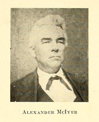 """Alexander McIver."" 1912. History of the University of North Carolina, volume 2, page 104."