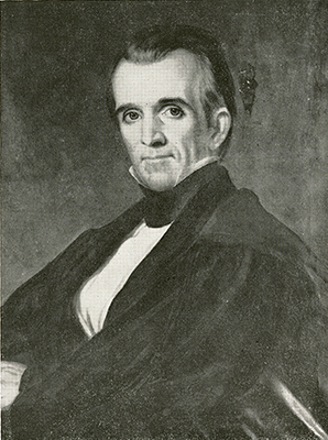 "Healy, G. P. A., circa 1846. ""James Knox Polk.""  North Carolina Portrait Index, 1700-1860. Chapel Hill: UNC Press. p. 183. (Digital page 197)."