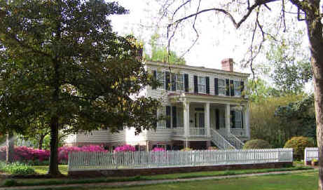 Poplar Grove. Image courtesy of Poplar Grove Plantation Historical Site.