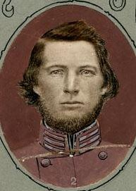 Robert Vance, Officer of the 29th regiment. Image courtesy of the NC Museum of History.