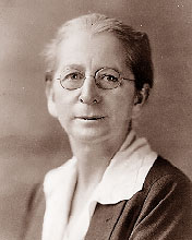 Mary Bayard Morgan Wootten. Image courtesy of the North Carolina Collection, UNC Libraries.