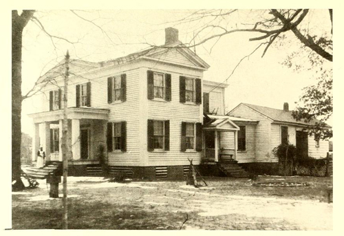 """Libery Hall"", the ancestral home of the Kenan family in Kenansville. Orginially built by Thomas' father, James Kenan."