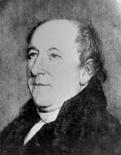 Rufus King, U.S. diplomat who made final debt negotations with Britian. Image courtesy of the Biographical Directory of the Unitied States Congress.
