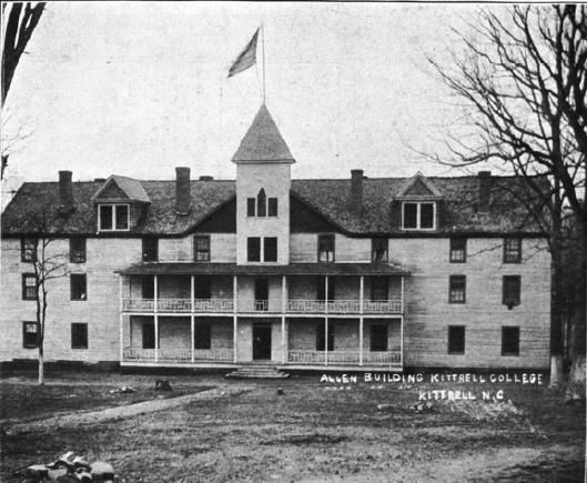 Photograph of Kittrell College, from An Era of Progress and Promise, 1908-1912.