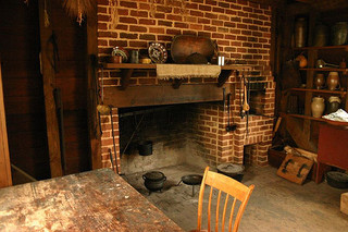 Kitchen Shack Interior- Historic Latta Plantation.