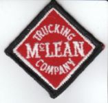 McLean Trucking Company Patch. Image available from NC Historic Sites.