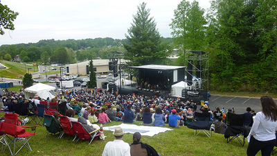 """Hillside stage."" 2012. Merlefest. Photo by Flickr user cp_thornton"