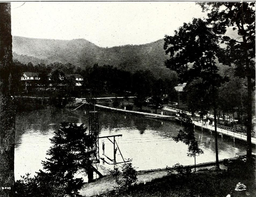 The Lake. From The Sun Dial, 1926.