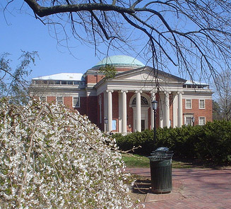 Morehead Planetarium, University of North Carolina at Chapel Hill, 2009. Image courtesy of Flickr user Michael Femia.