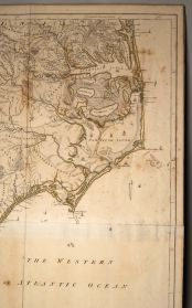 "Map: ""An Accurate Map of North and South Carolina, with their Indian Frontiers"". 1775. Image courtesy of Craven County Digital Historical Exhibit; accession #: TP.1956.005.001."