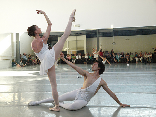 """Apollo - Traci Gilchrest & David Ingram"". Image courtesy of NC Dance Theater."