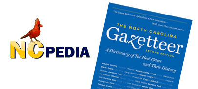 NCpedia and the North Carolina Gazetteer