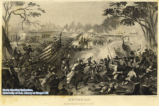 Newbern Civil War illustration