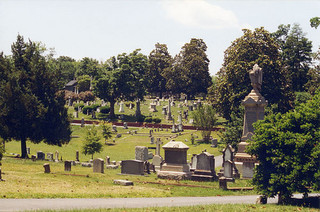 """Oakwood cemetary, Raleigh, NC."" Image courtesy of Flickr user Oliver Hammon, uploaded April 12, 2005."