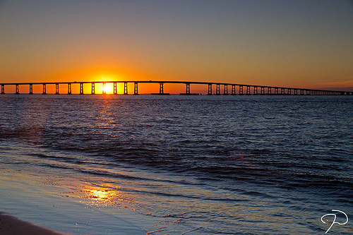 """Oregon Inlet Sunset 06."" November 14, 2010. Available from: Flickr Commons"