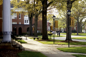 Pfeiffer University, Misenheimer Campus. Image courtesy of Pfeiffer University.