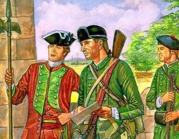 Colonial Rangers. Image available from U.S. Army Center of Military History.