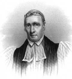 Bishop John S. Ravenscroft, 1772-1830, namesake of the Ravenscroft School for Boys. Image courtesy of NC Office of Archives and History.