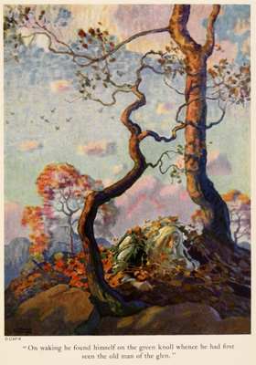 Rip Van Winkle image by N. C. Wyeth
