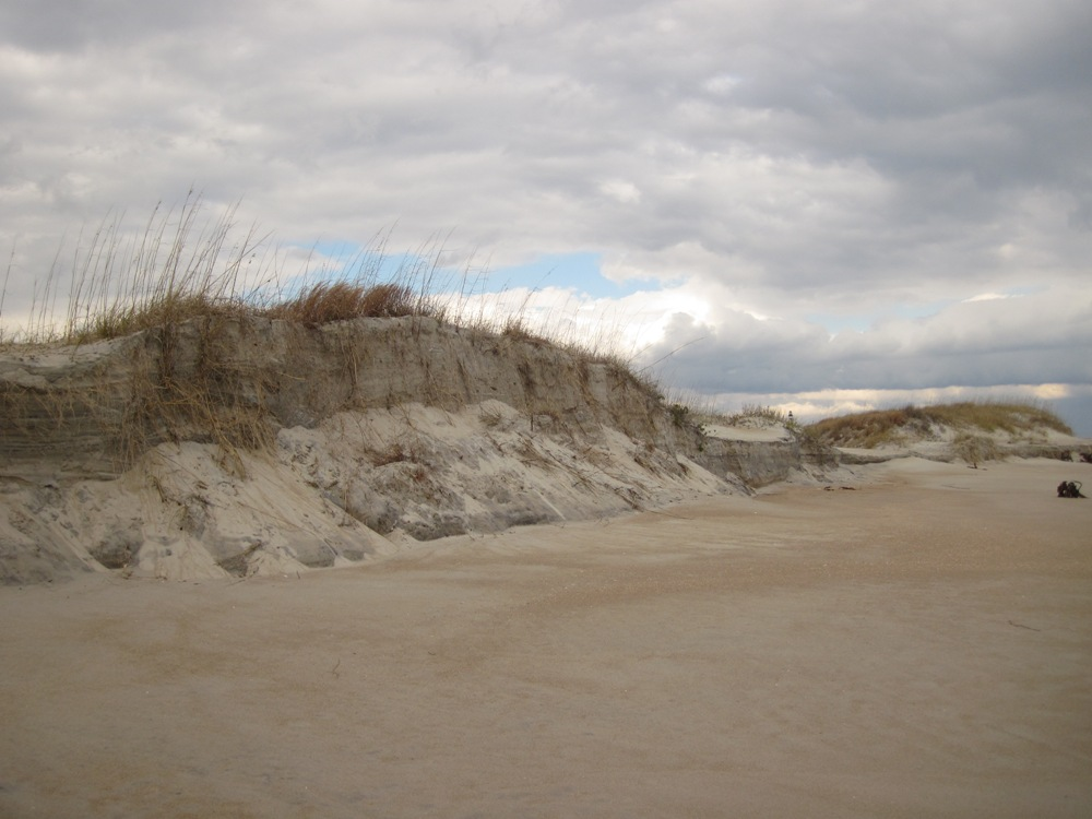Sand Dunes at the Cape Lookout National Seashore. Image courtesy of the National Park Service.