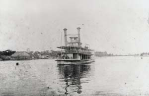 Steamboat near Wilmington