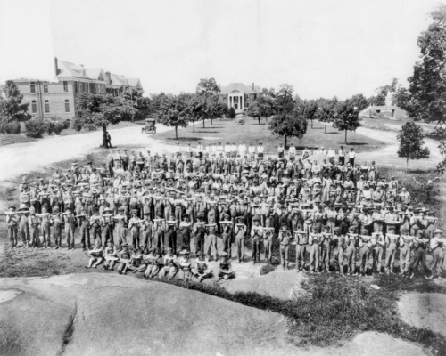 Boys at the Stonewall Jackson Training School, ca. 1937. North Carolina Collection, University of North Carolina at Chapel Hill Library. Original photograph owned by H. Lee Pharr.