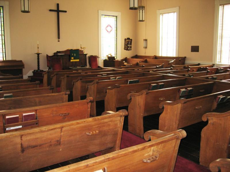 Milton Presbyterian Church Interior Ncpedia
