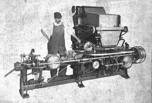 revolution cigarette machine