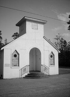 Holy Temple United Holy Church, Cumberland County, NC. Image courtesy of Gerry Dincher.