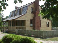 Van Deer House. Image courtesy of NC Historic Sites.