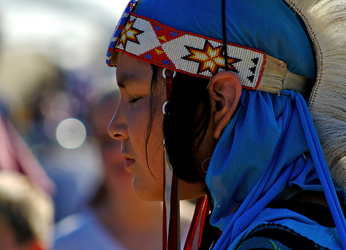 Waccamaw Powwow. Image courtesy of Flickr user The Life of Bryan, uploaded on October 20, 2007.