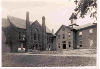 """Skinner Hall on the campus of Weaver College.""  Image courtesy of Brevard College."