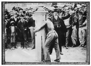 Whipping Post, no date. Image courtesy of Library of Congress.