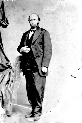 William W Holden 1865. Photo courtesy of the North Carolina State Archives, photograph call #: N_53_15_1566.