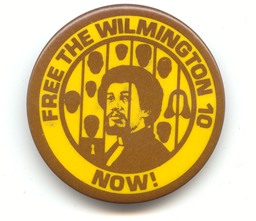 Free the Wilmington 10 button