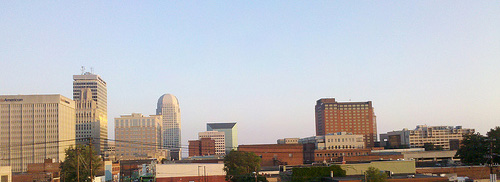 Downtown Winston-Salem. Available from: Flickr Commons.
